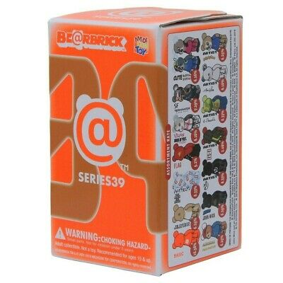 $9.99 • Buy Series 39 S39 Bearbrick 1pc Blind Box 100% Be@rbrick Medicom Toy Japan