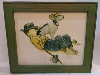 $ CDN166.67 • Buy Norman Rockwell 16.75 X14  VTG Wood Framed 3D Of  The Adventurers   Bas Relief