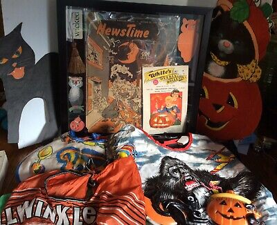 $ CDN52.78 • Buy HUGE Vintage Halloween Lot- Estate Find