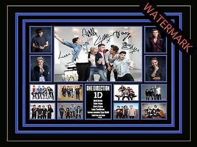AU94.99 • Buy One Direction Limited Edition Signed & Framed Memorabilia - Harry Styles