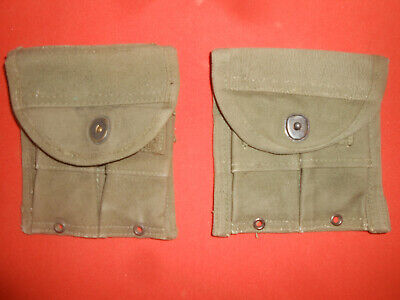 $ CDN39.89 • Buy U.S.ARMY:   WWII 2 X U.S. M1 Car.  Magazine Pouch BIG.   Used