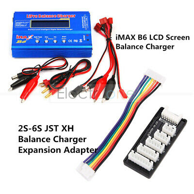 AU23.75 • Buy IMAX B6 Battery Charger Parallel Charging Balance Board 30A 2S 6S XT30 For Lipo