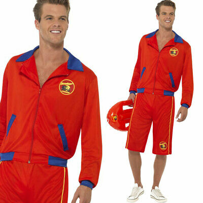 £33.99 • Buy Mens Official Baywatch Lifeguard Costume