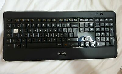AU8.98 • Buy Replacement Keys For Logitech K800 Illuminated Wireless Keyboard - With Clip