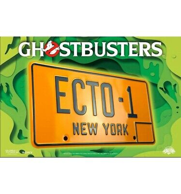 Doctor Collector - Ghostbusters: ECTO-1 Réplique 1/1 Plaque Mineralogique • 22.08£