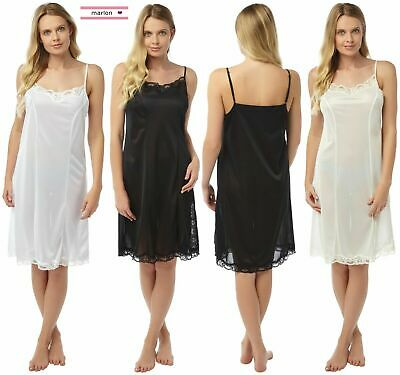Ladies Full Length Slips COOL AND COMFORT Stretch 8-22 EX STORE