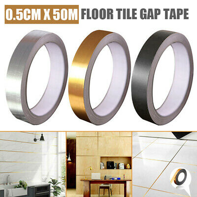For Kitchen Self Adhesive Waterproof Floor Tile Tape Wall Sticker 0.5cmx50m UK • 2.99£