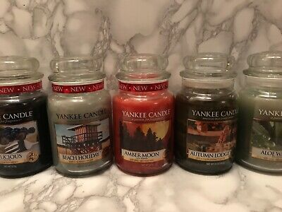 Yankee Candle Large Jar - You Pick The Scent - Rare - Hard To Find - Retired - • 24£