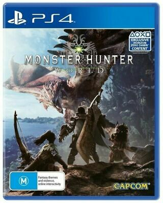 AU18 • Buy Monster Hunter  World (Sony PlayStation 4, 2018) Ps4