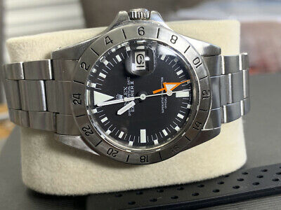 $ CDN9732.54 • Buy Rolex 1655 Steve McQueen Explorer II Orange Hand  Freccione  VERY GOOD CONDITION