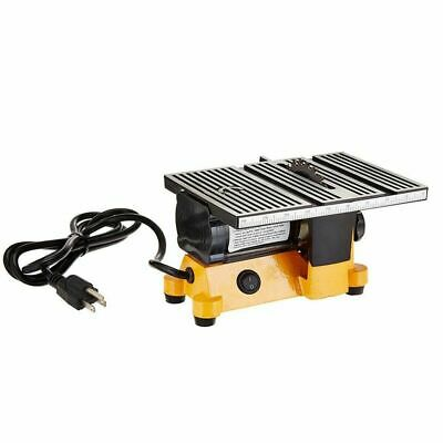 WO Mini 4  Table Bench Saw Electric Portable Wood Metal Glass Cutting Tool 240V • 103.95£