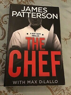 AU18 • Buy The Chef By James Patterson With Max DiLallo Softcover Book