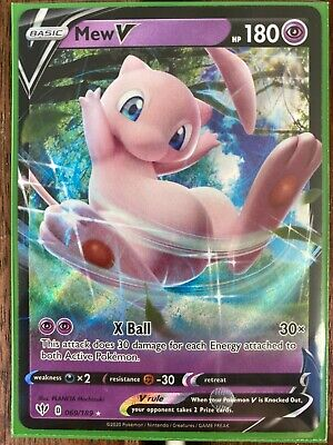 AU19.99 • Buy Pokemon Card  MEW V  Ultra Rare 069/189 DARKNESS ABLAZE *MINT* 69/189