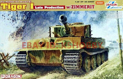 Dragon 6383 1/35 Tiger I Late Production W/Zimmerit • 45£