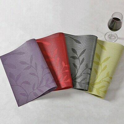 AU9.31 • Buy PVC Place Mats Kitchen Dining Table Placemats Non-Slip Washable O3