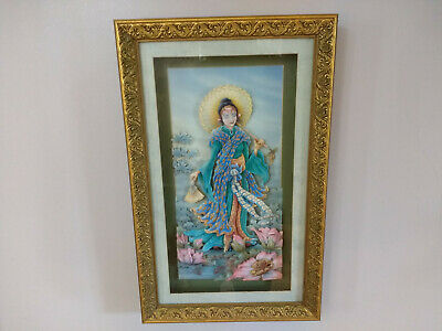 Asian Lady Wall Hanging Decoration Room Decor Art • 25£