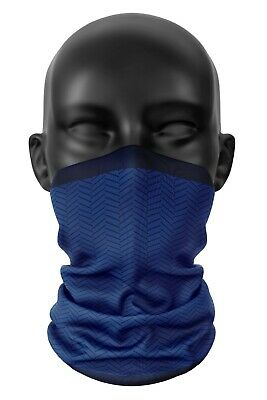Inspired By Chelsea FC Colours Football Snood Face Mask Neck Head Scarf  • 8.99£