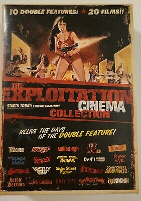 £60.17 • Buy The Exploitation Cinema Collection {DVD} 20 Films On 10 DVDs RARE OOP