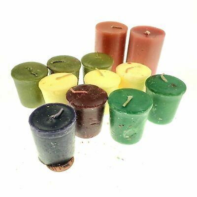 Yankee / Ginger Candle  Small Sampler Votive Scented Mini Candle 12 Piece Set • 36.68£
