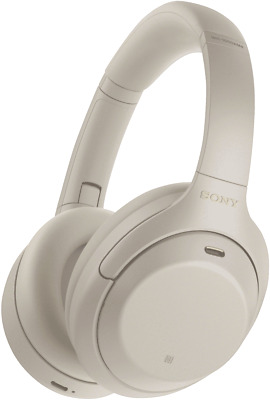 AU395 • Buy NEW Sony WH1000XM4S Noise Cancelling Headphones Silver