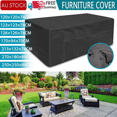 AU20.17 • Buy Waterproof Outdoor Furniture Cover Garden Patio Rain UV Table Protector Sofa AU
