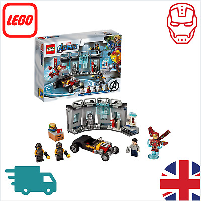 LEGO 76167 Super Heroes Marvel Avengers Iron Man Armory, Hall Of Armor Extension • 42.99£