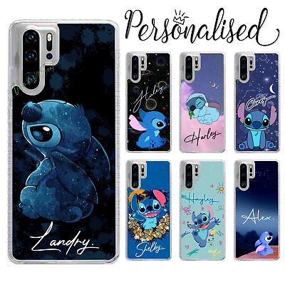 Personalised Lilo Stitch Name Custom Case For P30 Lite Pro P Smart Y6 Y7 • 6.99£