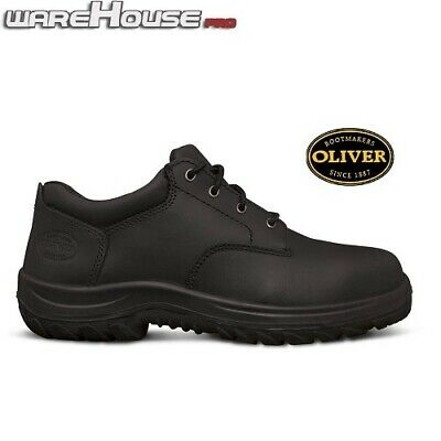 AU73.50 • Buy Oliver Safety Shoes: 34-652 Black Leather Lace Up Derby Shoe With Steel Toe