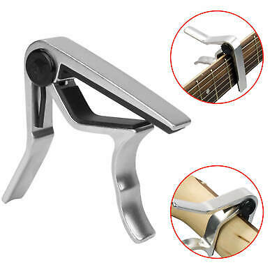 $ CDN2.34 • Buy Alloy Guitar Capo Clip Diacritical Ukulele Classical Folk Sub-parts New