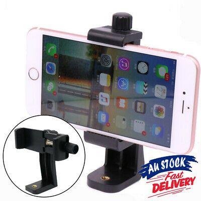 AU11.99 • Buy Cell Phone Holder Mount Universal Smartphone Tripod Adapter  For IPhone Camera
