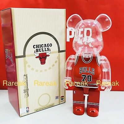 $234.99 • Buy Medicom Be@rbrick NBA X Milk Magazine 400% Chicago Bulls Bearbrick 1pc