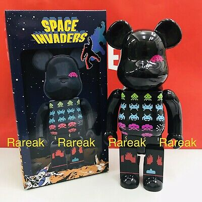 $274.99 • Buy Medicom Be@rbrick 2019 Taito Space Invaders 400% The 70's Video Games Bearbrick