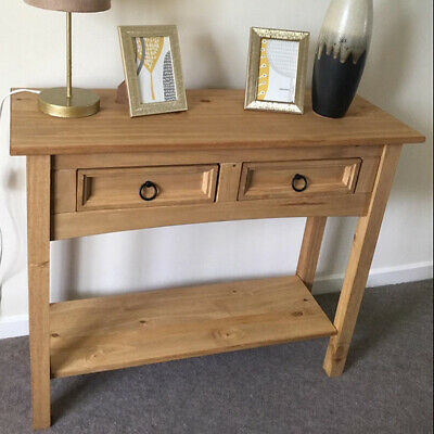 £65.80 • Buy Vintage Hallway Console Table Hall Entryway Living Room Furniture Wooden Rustic