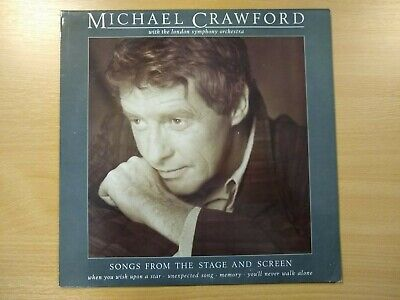 2) Michael Crawford Songs From The Stage And Screen 12  Vinyl (12 Inch Album) • 2£