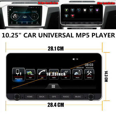 $310.99 • Buy 10.25 Inch Car Support Carplay DSP Bluetooth GPS Android 9.0 Integrated Machine