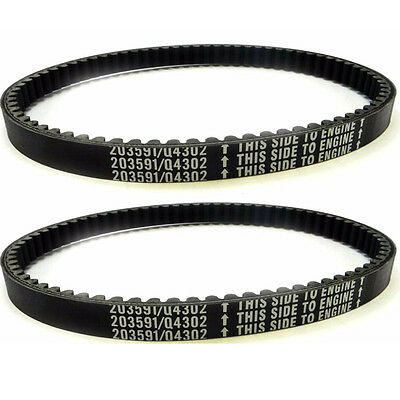 $ CDN30.62 • Buy 2pcs Go Kart Drive Belt 30 Series Manco Comet 203591 Yerf Dog Q43203W 10052 7655