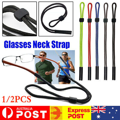 AU5.99 • Buy Reading Eyeglass Glasses Chain Cord Lanyard Sunglasses Neck Holder Sports Strap