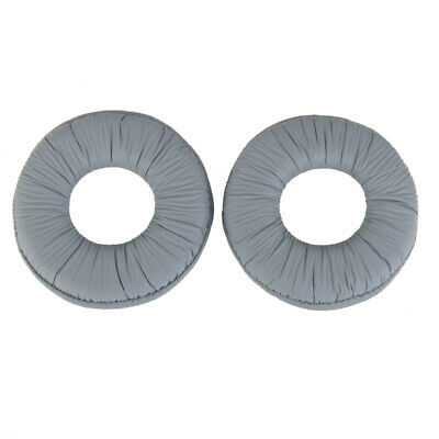 Ear Pads Cushions For Sony MDR ZX100 ZX300 Headset Headphone Grey • 3.13£