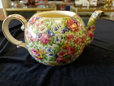 $ CDN195 • Buy Royal Winton Grimwades England  Summertime  Tea Pot *No Lid