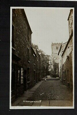 £10 • Buy Kirkby Lonsdale, Street View And Church - Real Photographic Postcard