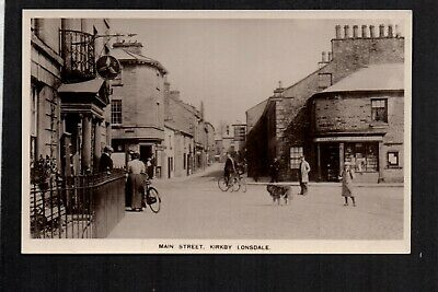 £16.50 • Buy Kirkby Lonsdale - Main Street - Real Photographic Postcard