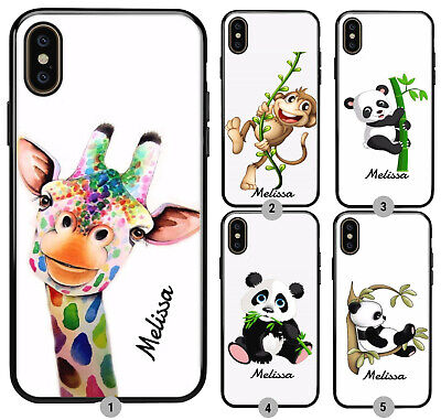 £5.99 • Buy Personalised Name Panda Giraff Phone Case Cover For Apple IPhone Samsung Galaxy