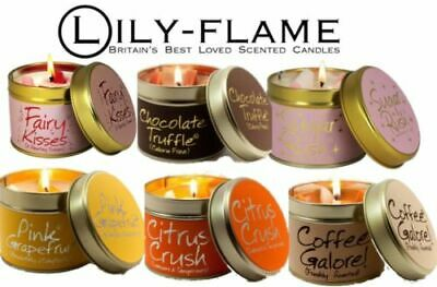 Lily Flame Candles - Fabulous Selection -- Free Pp - New  • 9£