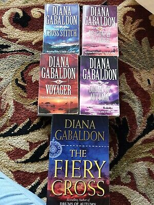 AU45 • Buy 5x Diana Gabaldon Outlander Series Book Set Bulk Lot Paperback