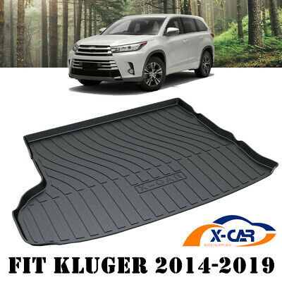 AU53.95 • Buy Cargo Rubber Waterproof Mat Boot Liner Fits Toyota Kluger 5 & 7 Seater 2014-2019