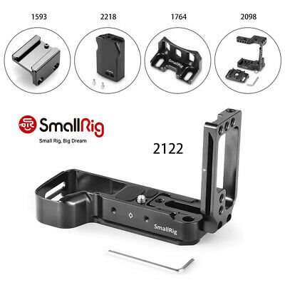 $ CDN110.16 • Buy SmallRig L-Bracket With QR Cage And Mount Aapter For Sony A7III/A7M3/A7RIII