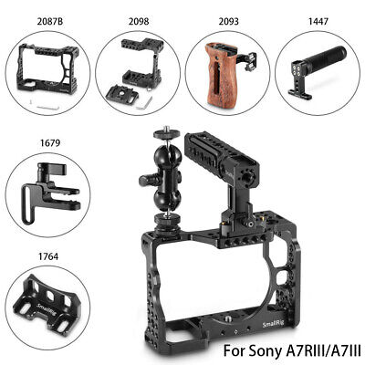$ CDN194.66 • Buy SmallRig Camera Cage/Handle Grip/Cable Clamp/ Lens Mount For Sony A7RIII/A7III