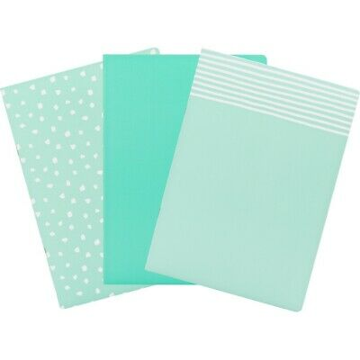 AU8 • Buy Smash Essentials B5 Notebook 3 Pack - Mint