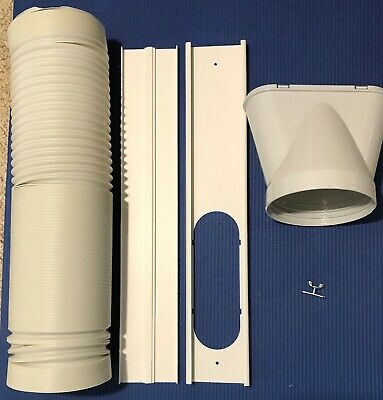 AU46.99 • Buy Portable Air Conditioner Spare Parts Gob+Window Slide Kit Plate +Hose 15cm 1.8M