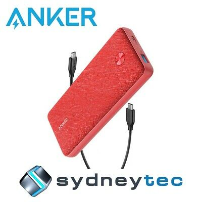 AU167.94 • Buy New Anker PowerCore Essential 20000 PD Power Bank - Pink Fabric
